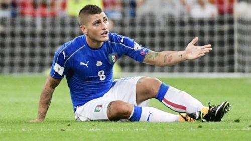 Cầu thủ Verratti chưa thể hiện được vai trò trong trận đấu với Tây Ban Nha