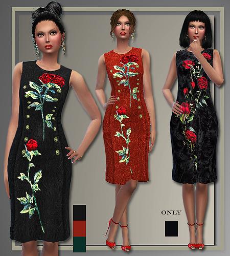My Sims 4 Blog: Dolce & Gabbana 2015/2016 Dresses For