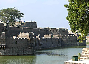 Photograph of the fort at Vellore