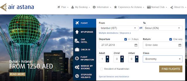 İstanbul - Güney Kore Uçak Biletimi Nasıl Aldım? SkyScanner İle Ucuza Uçak Bileti Nasıl Alınır?