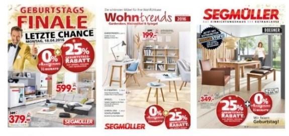 Segmüller Weiterstadt Prospekt 2019