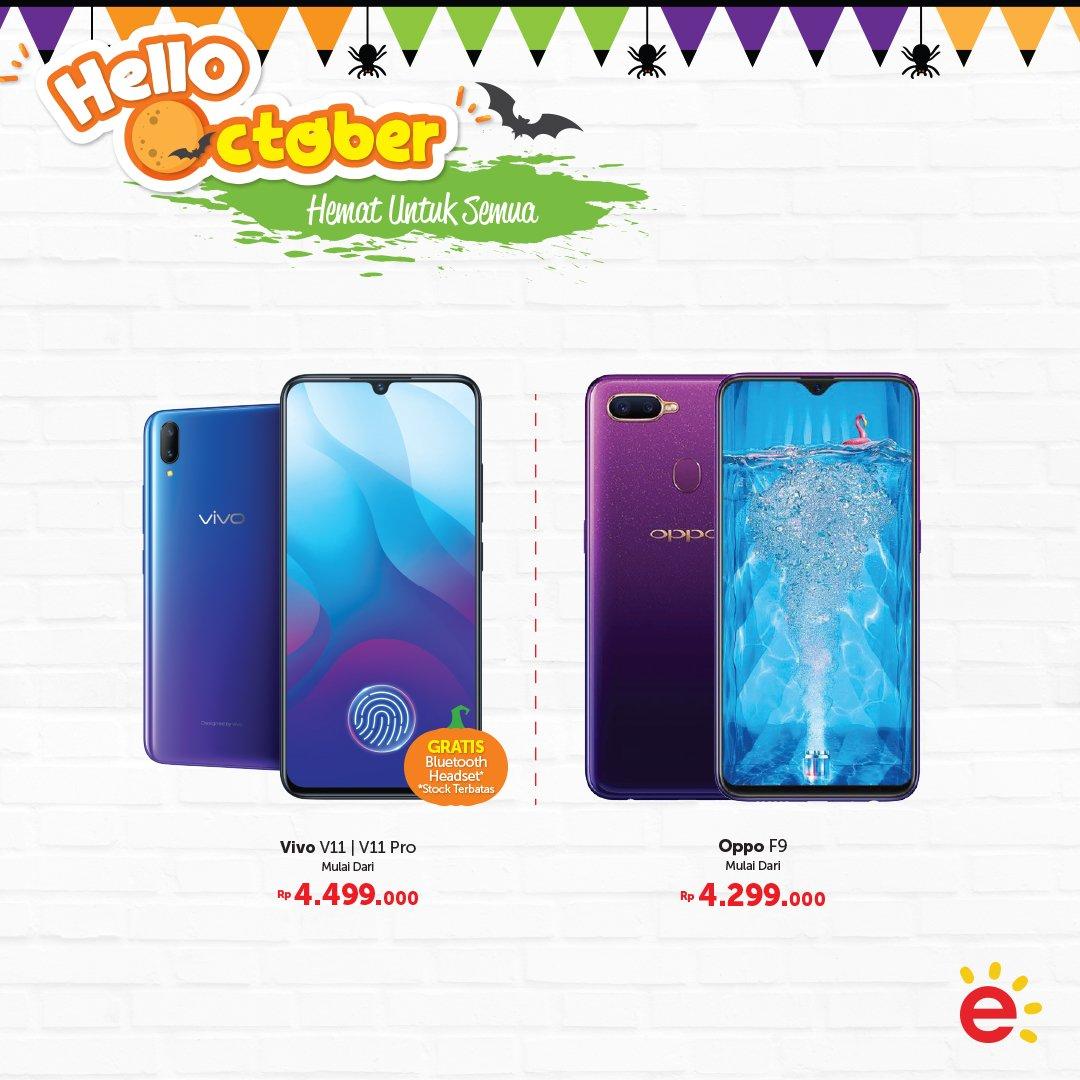 Erafone - Promo Oktober Hemat Untuk Semua & Cashback s.d 500 RIbu (s.d 14 Okt 2018)
