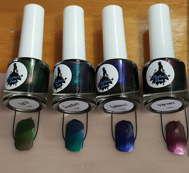shifty, multichrome, collection, polish
