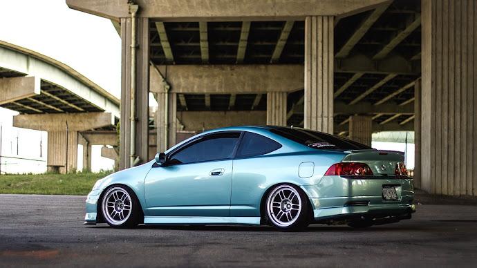 Wallpaper: Car Acura RSX-S