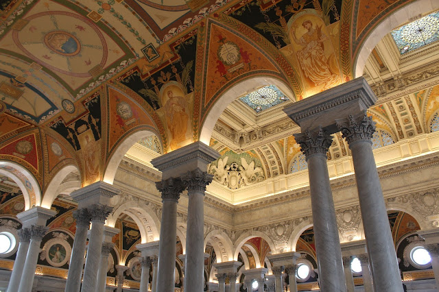 library of congress washington dc interior architecture