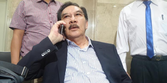 Antasari Azhar Lapor ke Bareskrim Terkait Dugaan SMS Palsu