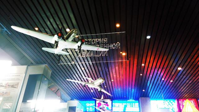 человек всегда стремился в небо (в Самарском музее Авиации и Космонавтики имени С. П. Королева)