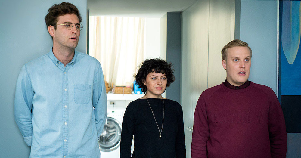 Alia Shawkat, John Reynolds y John Early interpretan a Drew, Dory y Elliott