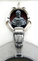 The bust of Michelangelo at Casa Buonarroti