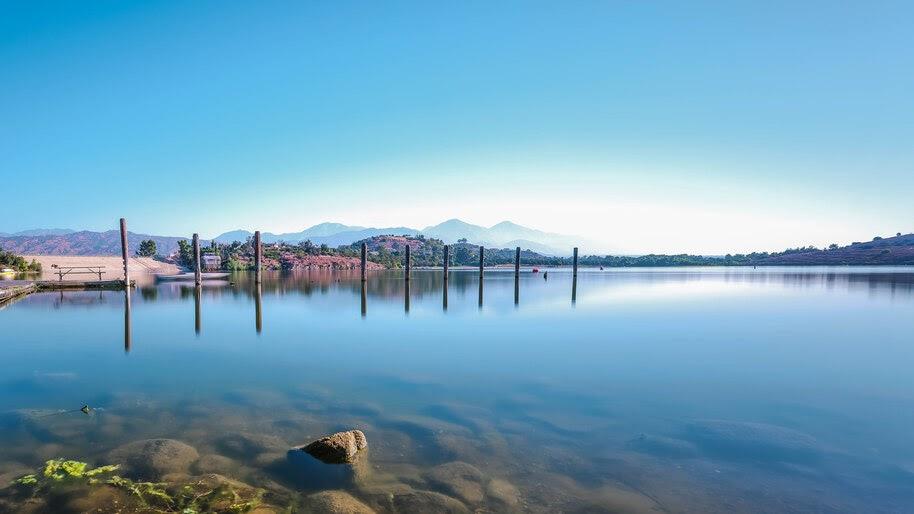 Lake, Nature, Scenery, 8K, #4.2321