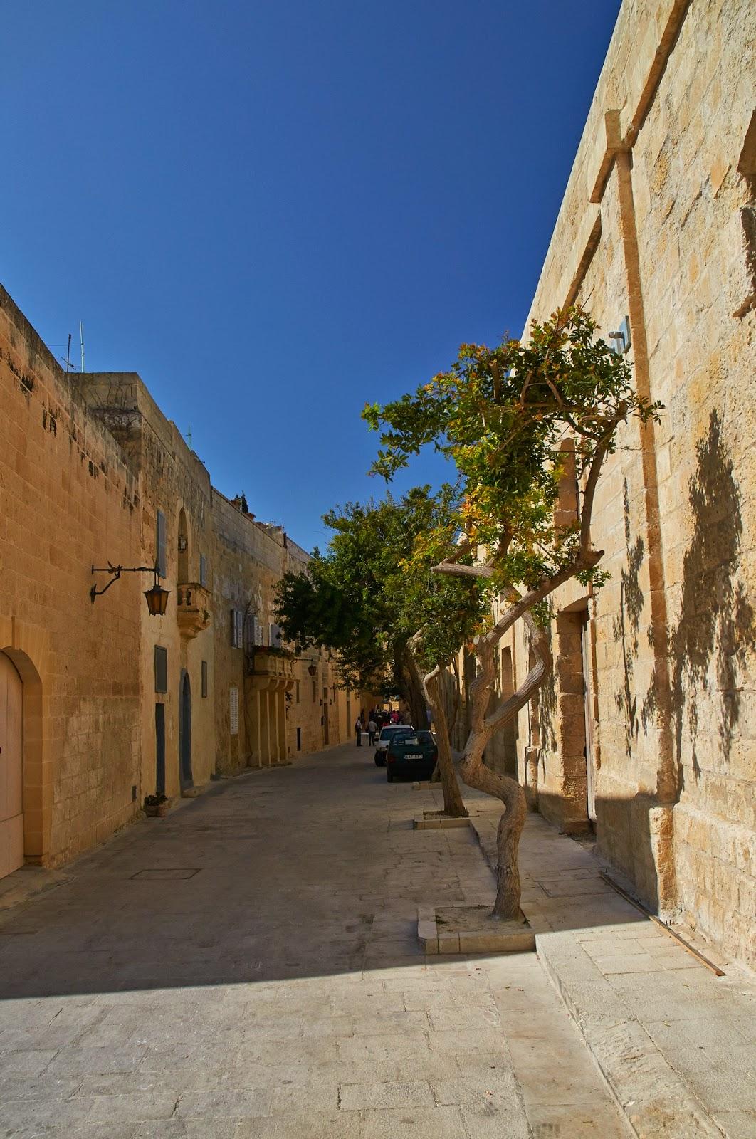 ulice Mdina na Malcie Europa na wakcje