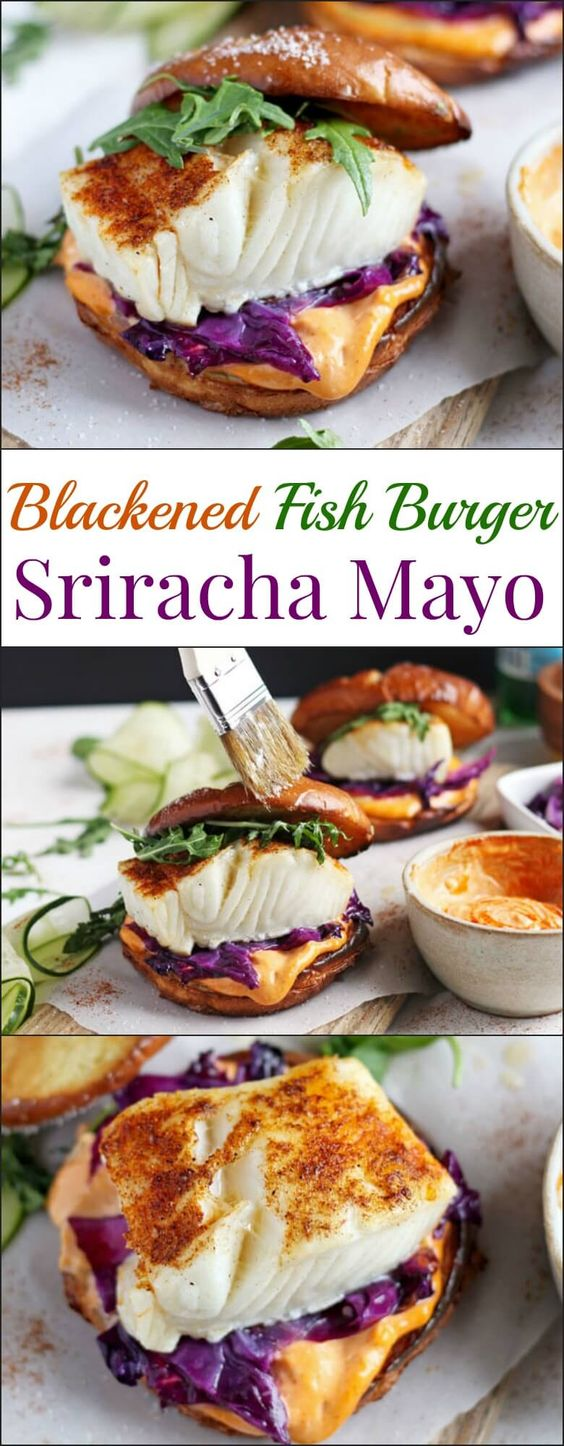 BLACKENED FISH BURGER AND SRIRACHA MAYO #Food #Vegetarian #vegetarianrecipes #vegetarianrecipeshealthy #vegetarian meals #vegetarianchili #vegetarianmealprep #vegetarianrecipesdinner #vegetarianrecipesdinnereasy #vegetarianrecipeshighprotein #easyrecipes #recipes #CookbookRecipesEasy #HealtyRecipes #fishrecipes  #moquecabrazilian #fish stew #foodRecipes #foodburgers #fooddrinkrecipeS #Cooker #masonjar #healthy #recipes #greatist #vegetarian #breakfast #brunch  #legumes #chicken #casseroles #tortilla #homemade #popularrcipes #poultry #delicious #pastafoodrecipes  #Easy #Spices #ChopSuey #Soup #Classic #gingerbread #ginger #cake #classic #baking #dessert #recipes #christmas #dessertrecipes #Vegetarian #Food #Fish #Dessert #Lunch #Dinner #SnackRecipes #BeefRecipes #DrinkRecipes #CookbookRecipesEasy #HealthyRecipes #AllRecipes #ChickenRecipes #CookiesRecipes #ріzzа #pizzarecipe #vеgеtаrіаn #vegetarianrecipes #vеggіеѕ #vеgеtаblеѕ #grееnріzzа #vеggіеріzzа #feta #pesto #artichokes #brоссоlіSаvе   #recipesfordinner #recipesfordinnereasy #recipeswithgroundbeef  #recipeseasy #recipesfordinnerhealth #AngeliqueRecipes #RecipeLion #Recipe  #RecipesFromTheBlog #RecipesyouMUST #RecipesfromourFavoriteBloggers #BuzzFeed #Tasty #BuzzFeed #Tasty #rice #ricerecipes #chicken #dinner #dinnerrecipes #easydinner #friedrice #veggiespeas #broccoli #cauliflower #vegies,  #vegetables  #dinnerrecipes #dinnerideas #dinner #dinnerrecipeseasy #dinnerrecipesforfamily #TheDinnerMom #DinnerthenDessert #DinnerattheZoo #QuickandEasyRecipes #DinnerattheZooRecipes #DINNERRecipes #DinnerRecipesSimpleMeals #foodrecipes #fooddinner #Healthandmanymore #FoodWine #Cakes #Lifestyle #Food #FoodandFancies #FoodBloggers entralSHARINGBoard