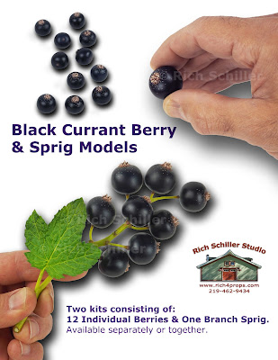artificial fake currant berries