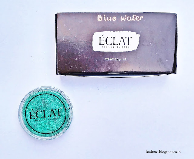 Eclat Pressed Glitter (Blue Waters)