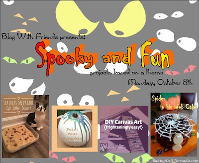 Blog With Friends, a multi-blogger project based post based on a theme, Spooky and Fun | Featured on www.BakingInATornado.com