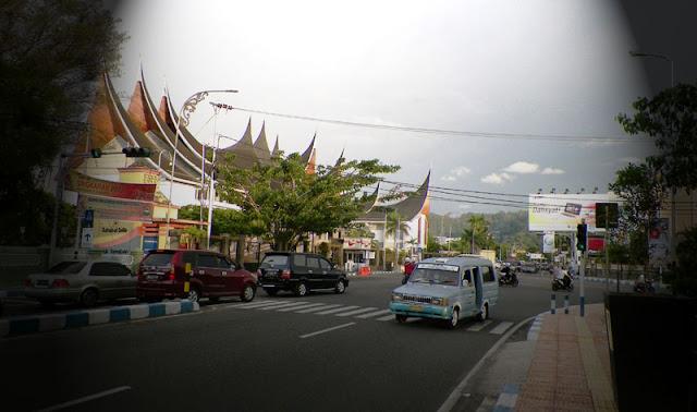 Foto Sudut Kota Padang Ibu Kota Sumatra Barat