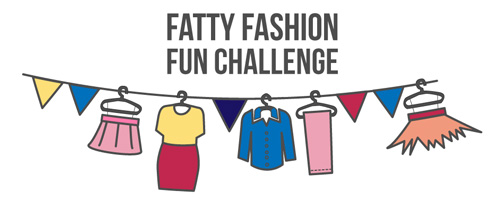 Fatty Fashion Fun Challenge-Glamour!