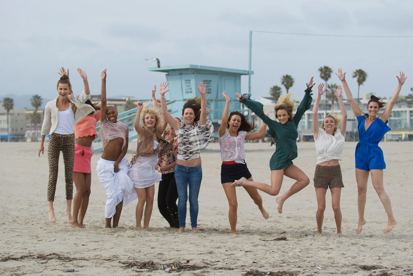 Photoshoot at Venice Beach for Elpromotions