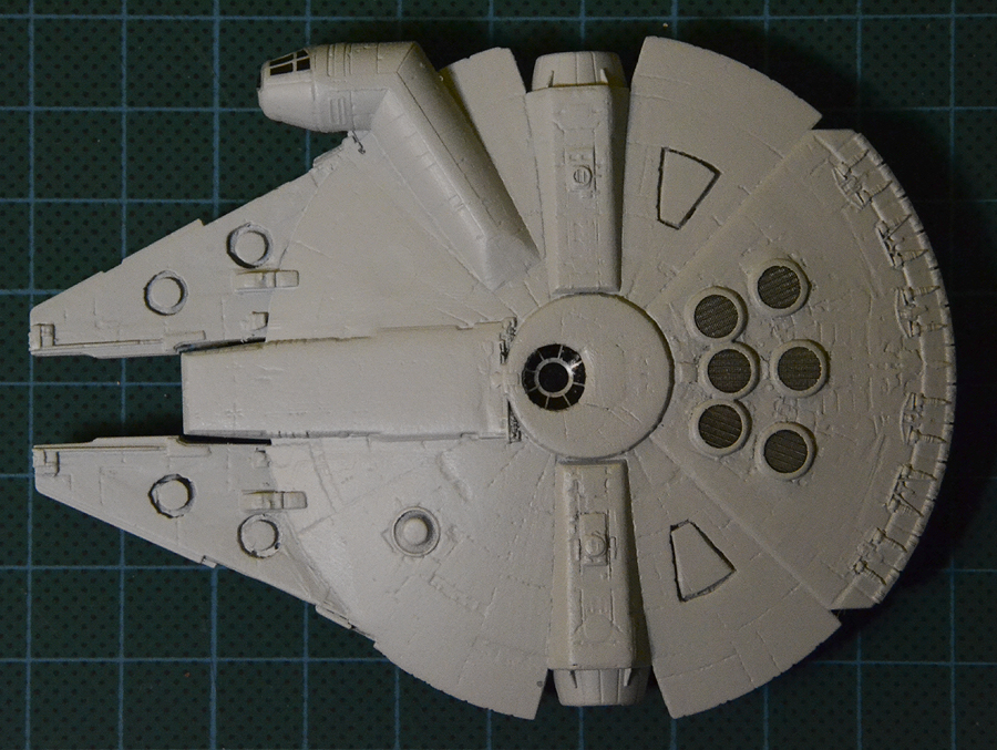 YT-1300 Freighter w/Cargo Carriage (scale model), Part 1