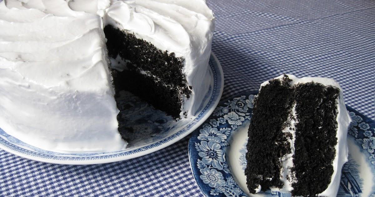 Baking Outside The Box Black Amp White Cake