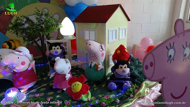 Decoração infantil Peppa Pig - Festa de aniversário