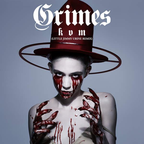 Grimes - Kill V. Maim (Little Jimmy Urine Remix) - Single Cover