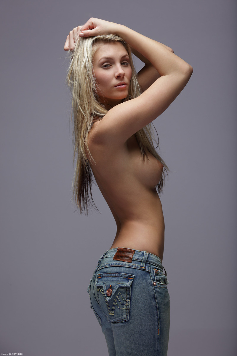 All Hot blonde girls tight jeans topless opinion