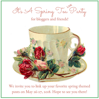 Spring tea party link up