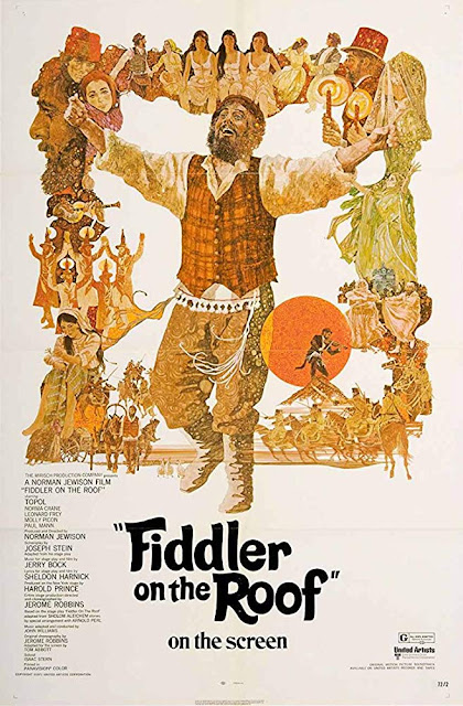 Fiddler on the Roof 1971 movie poster