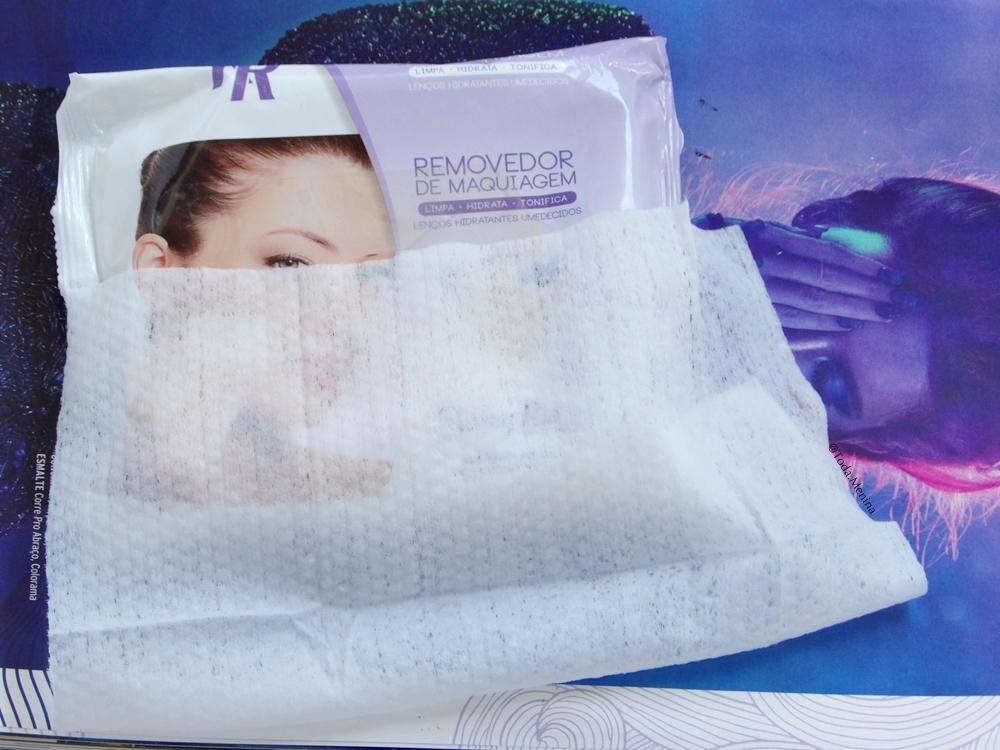 demaquilante-lenços removedor make- removedor de maquiagem- lenços ruby rose- bem estar da pele- chá verde para o rosto- vitamina E para o rosto- todamenina blog- gih rodrigues- cuidados com a pele