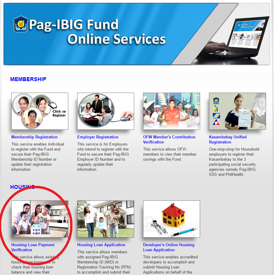 Pag IBIG Fund Online Services | Pag-Ibig Fund and HDMF Guide