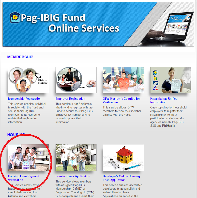 Pag IBIG Loan Online Services
