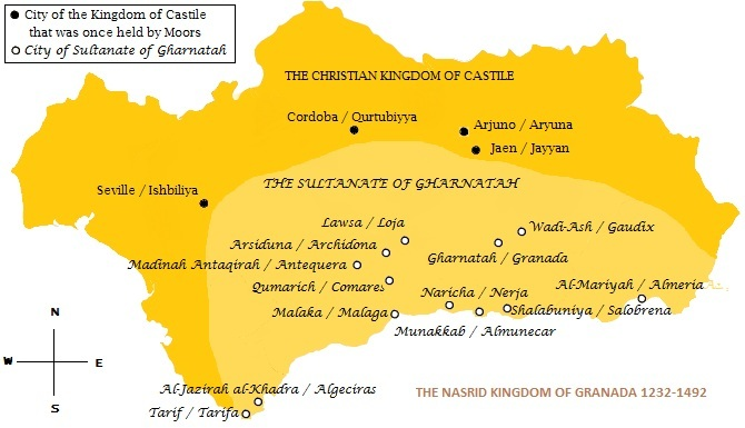 Map Of Spain Under Moorish Rule.Lisa J Yarde Author The Sultana Series Learn More