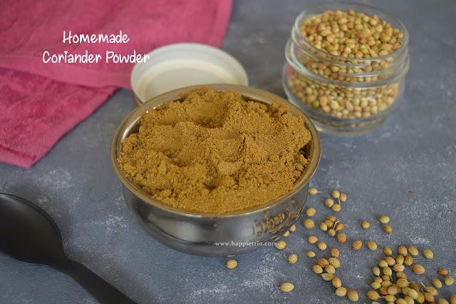 Homemade Coriander Powder | Dhania Powder