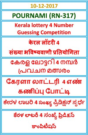 4 Number Guessing Competition POURNAMI RN-317