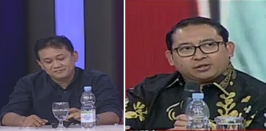 Denny Siregar vs Fadli Zon