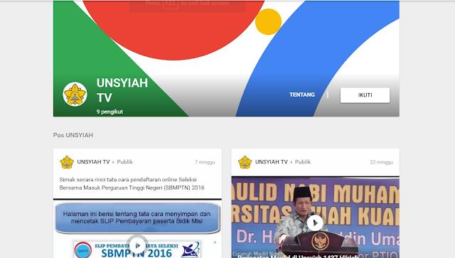Screenshot 25 - Unsyiah Sebagai Jantung Hati Rakyat Aceh di Kota Pelajar dan Mahasiswa Darussalam