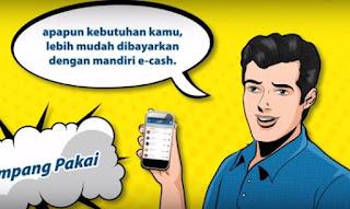cara Mendapatkan Layanan e-Cash Bank Mandiri