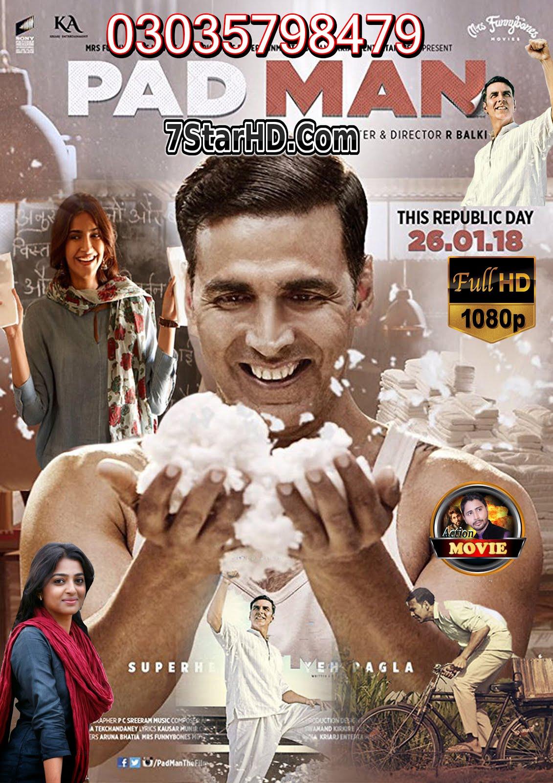 Padman 2018 Hindi 720p HDRip x264 1.3GB