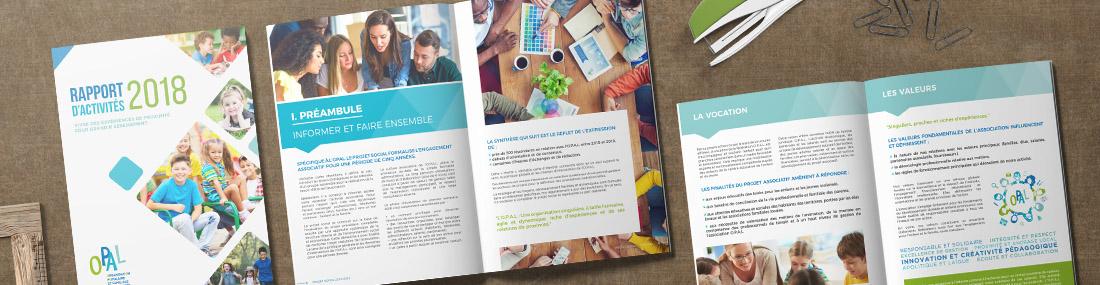 Création de flyers, affiches, brochures.