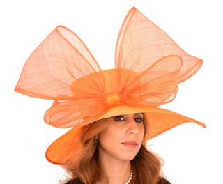 Crossbill Sinamay Bow Ascot Derby Wedding Hat