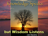 knowledge and wisdom