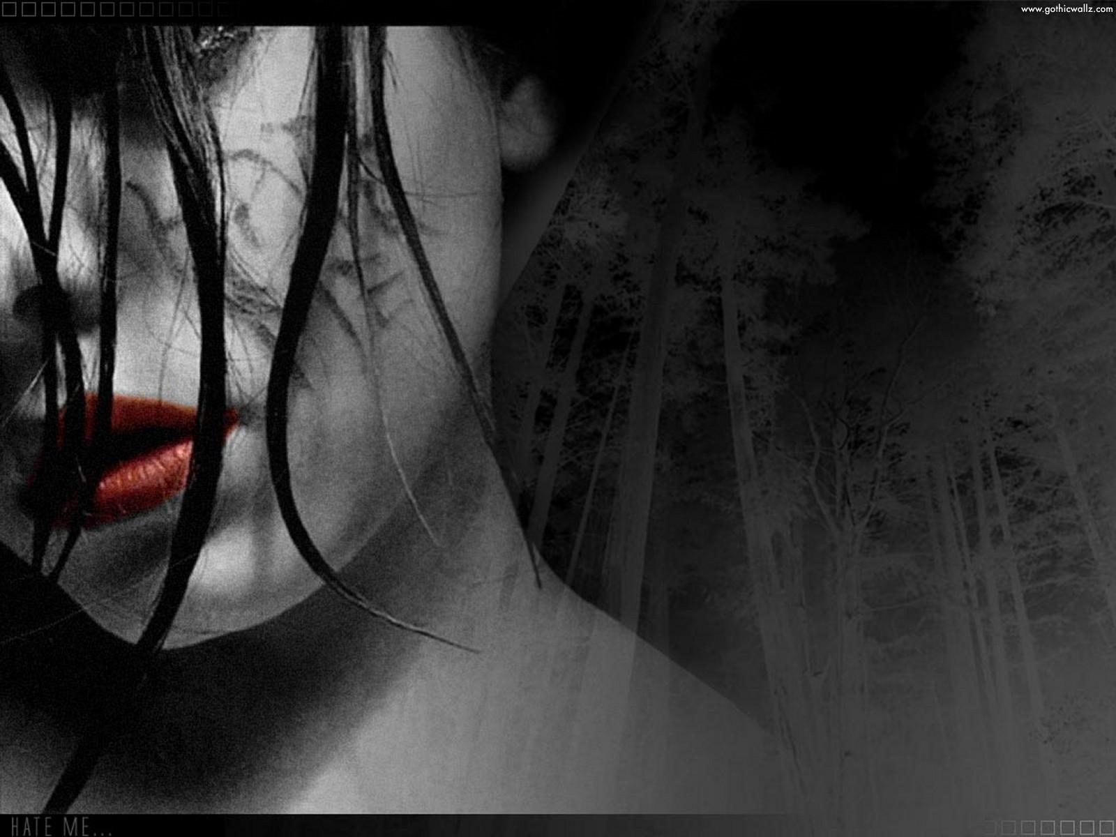 Gothic Vampire Bloody ...