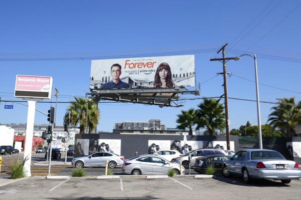 Forever tv series billboard