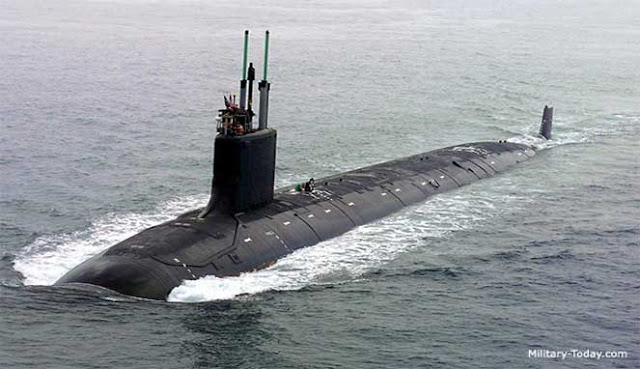 yang merupakan kapal selam modern terbesar dan paling mematikan di dunia 10 KAPAL SELAM MILITER TERBAIK DI DUNIA