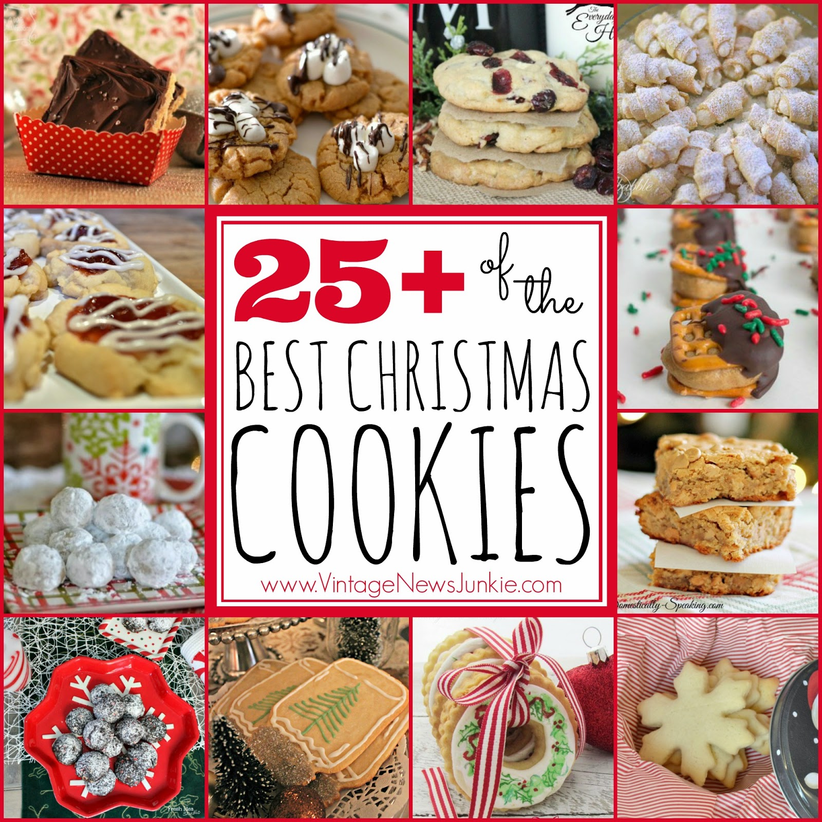 25+ OF THE BEST CHRISTMAS COOKIE RECIPES