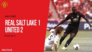 HT: Real Salt Lake vs Manchester United 1-2 plus Video Gol