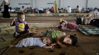 Ratusan Ribu Orang Mengungsi Akibat Serangan Rezim Syiah Nushairiyah Dalam 5 Bulan Terakhir
