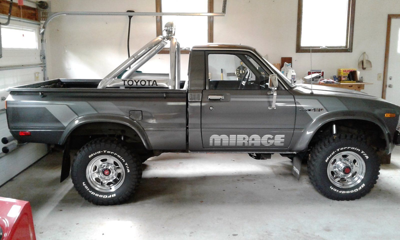 1983 Toyota Sr 5 4x4 Pickup Truck Quot Mirage Limited Edition