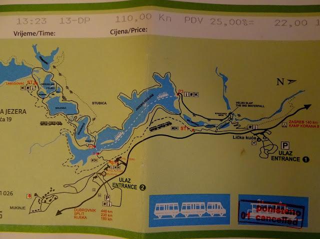 Jeziora Plitvickie - informacje praktyczne